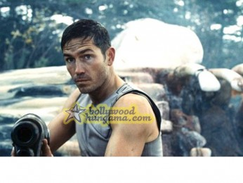 Movie Still From The Film Outler Featuring James Caviezel
