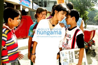 Movie Still From The Film Let's Dance Featuring Nikuunj Pey,Paras Arora,Aabhaas