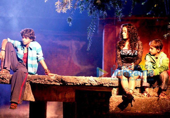 Movie Still From The Film Let's Dance Featuring Aabhaas Yadav,Gayatri Patel,Nikuunj