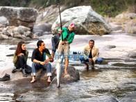 Movie Still From The Film Luck Featuring Imran Khan,Shruti K. Haasan,Mithun Chakraborty