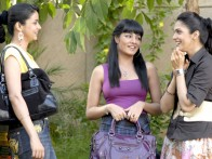 Movie Still From The Film Hello Darling,Gul Panag,Celina Jaitly,Eesha Koppikhar