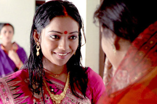 Movie Still From The Film Antardwand,Swati Sen