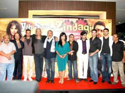 Photo Of Saurabh Shukla,Irrfan Khan,Sudhir Mishra,Prakash Jha,Chitrangda Singh,Yashpal Sharma,Vipul Gupta,Arunoday Singh,Vipin Sharma From The Chitrangda at Prakash Jha's film 'Yeh Saali Zindagi' film launch