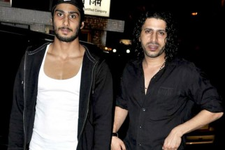 Photo Of Prateik Babbar,Faruk Kabir From The Naseruddin Shah and Prateik Babbar watch 'Allah Ke Banday'