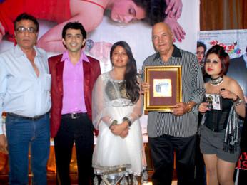 Photo Of Vinod Chhabra,Pavan Sharma,Rakhi Vohra,Prem Chopra,Alisa Khan From The Audio release of 'My Husband's Wife'