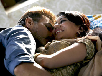 Movie Still From The Film Bhindi Baazaar Inc,Pawan Malhotra,Vedita Pratap Singh