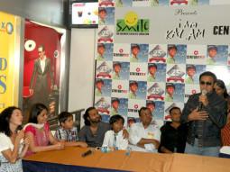Photo Of Beatrice Ordeix,Husaan Saad,Pitobash Tripathy,Harsh Mayar,Nila Madhab Panda,Gulshan Grover From The Gulshan at special screening of 'I Am Kalam'