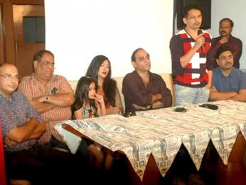 Photo Of Satish Kaushik,Jannat Zubair Rahmani,Rituparna Sengupta,Karan Razdan,Atul Kulkarni From The Rituparna at 'Warning' film press meet