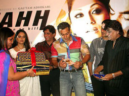 Photo Of Gracy Singh,Anand Raj Anand,Salman Khan From The Audio Launch Of Wajahh