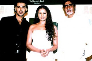 Photo Of John Abraham,Bipasha Basu,Amitabh Bachchan From The Audio Release Of Aetbaar