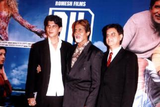 Photo Of Karan Sharma,Amitabh Bachchan,Romesh Sharma From The Audio Release Of Dil Jo Bhi Kahey