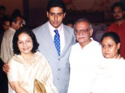 Photo Of Rakhee,Abhishek Bachchan,Gulzar,Jaya Bachchan From The Audio Release Of Filhaal
