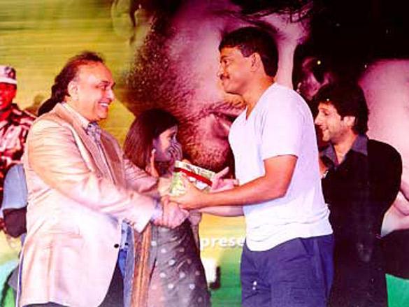 Photo Of Bharat Shah,Urmila,Ramgopal Varma,Fardeen Khan From The Audio Release Of Jungle