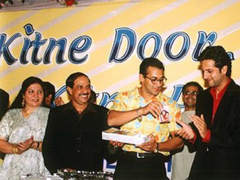 Photo Of Salman Khan,Fardeen Khan,Amrita Arora,Mehul Kumar From The Audio Release Of Kitne Door Kitne Paas