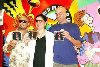 Photo Of Sabir Zafar,Pooja Bhatt,Ali Azmat From The Audio Release Of Paap