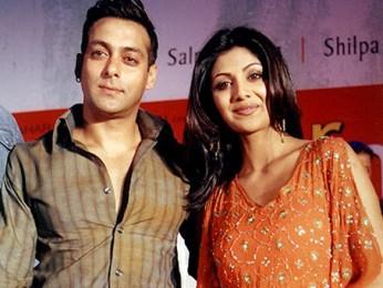 Photo Of Salman Khan,Shilpa Shetty From The Audio Release Of Phir Milenge