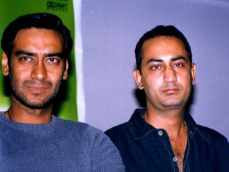 Photo Of Ajay Devgn,Anil Devgan From The Audio Release Of Raju Chacha