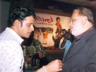 Photo Of Manoj Bajpai,Jagmohan Mundhra From The Audio Release Of Ramji Londonwaley