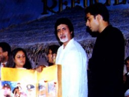 Photo Of Jaya Bachchan,Amitabh Bachchan,Abhishek Bachchan From The Audio Release Of Refugee