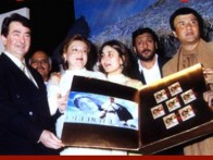 Photo Of Randhir Kapoor,Babita,Kareena,Jackie Shroff,Avtar Gill From The Audio Release Of Refugee