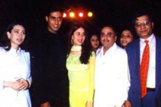 Photo Of Karisma Kapoor,Abhishek Bachchan,Kareena Kapoor,Subhash Ghai From The Audio Release Of Refugee