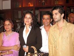 Photo Of Manisha Koirala,Rakesh Bapat From The Completion Party Of Kaun Hai Jo Sapno Mein Aaya