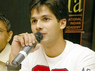 Photo Of Shahid Kapoor From The Dil Maange More Press Meet At IIFA,Singapore