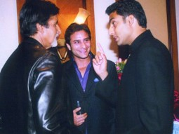Photo Of Amitabh Bachchan,Saif Ali Khan,Abhishek Bachchan From The Kaante Movie Completion Party