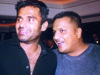 Photo Of Suniel Shetty,Sanjay Gupta From The Kaante Movie Completion Party