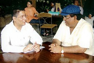 Photo Of Taran Adarsh,Satish Kaushik From The Launch Of Vaada