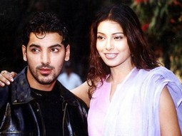 Photo Of John Abraham,Bipasha Basu From The Mahurat Of Aitbaar