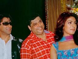 Photo Of Salman Khan,David Dhawan,Priyanka Chopra From The Mahurat Of Mujhse Shaadi Karogi