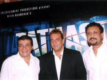 Photo Of Nitin Manmohan,Sanjay Dutt,Anubhav Sinha From The Audio Release Of Tathastu