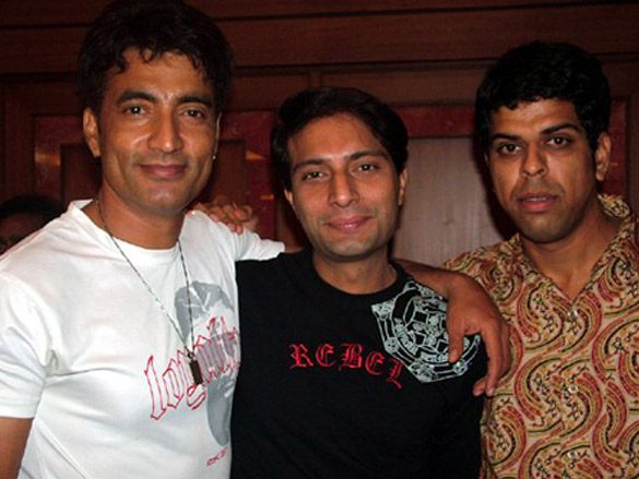Photo Of Narendra N Jha,Amit Behl,Murli Sharma From The Eik Dasttak Movie Completion Party
