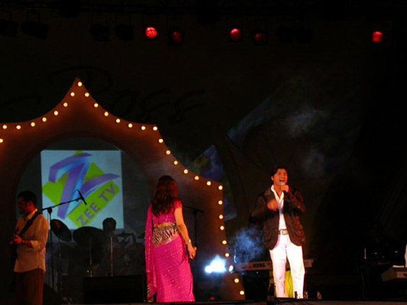 Photo Of Shaan From The Shankar Ehsaan Loy Concert At IFFI
