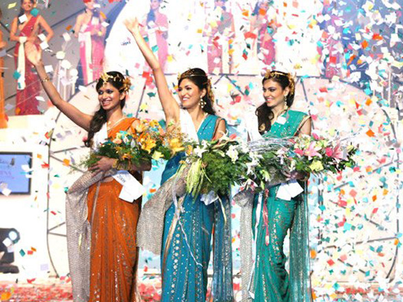 Photo Of Harshita Saxena,Parvathy Omanakuttan,Simran Kaur Mundi From The Pantaloons Femina Miss India 2008