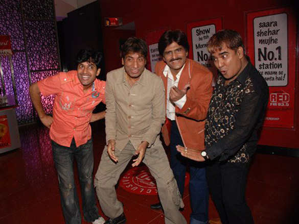 Photo Of Deepak Raja,Raju Shrivastava,Ehsaan Qureshi,Parag Kansara From The Premiere Of Bombay To Goa