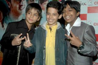 Photo Of Husaan Saad,Darsheel Safary,Harsh Mayar From The Premiere of 'I Am Kalam'