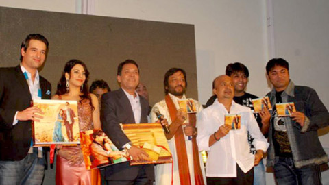 Photo Of Mikaal Zulfikaar,Priti Soni,Aron Govil,Roop Kumar Rathod,Sameer,Darshan,Sanjeev From The Audio release of 'U R My Jaan'