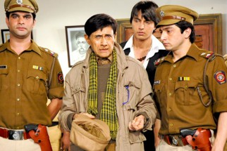 Movie Still From The Film Chargesheet,Dev Anand