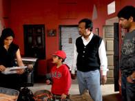 On The Sets Of The Film Khushiyaan Featuring Jasbir Jassi,Tisca Chopra,Kulbhushan Kharbanda,Rama Vij,Deep Dhillon,Vivek Shauq,Tirlok Malik,Gurpreet Guggi,Vipin Sharma,Gurpreet Singh,Sudhir Kumar,Sardool Sikander,Ankita Shorey