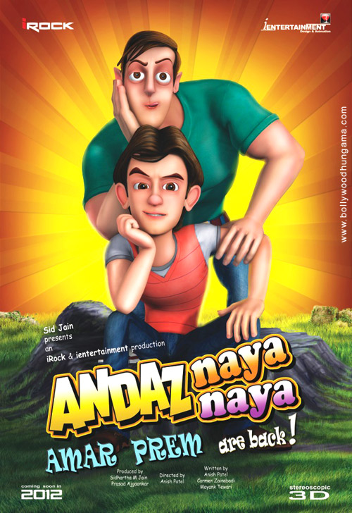 First Look Of The Movie Andaz Naya Naya