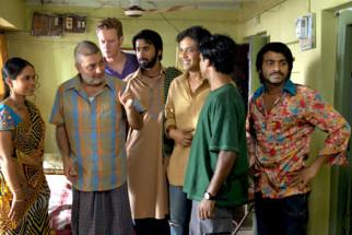 Movie Still From The Film Jo Dooba So Paar - It's Love in Bihar!,Sadia Siddiqui,Vinay Pathak,Alexx O'Neil,Anand Tiwari