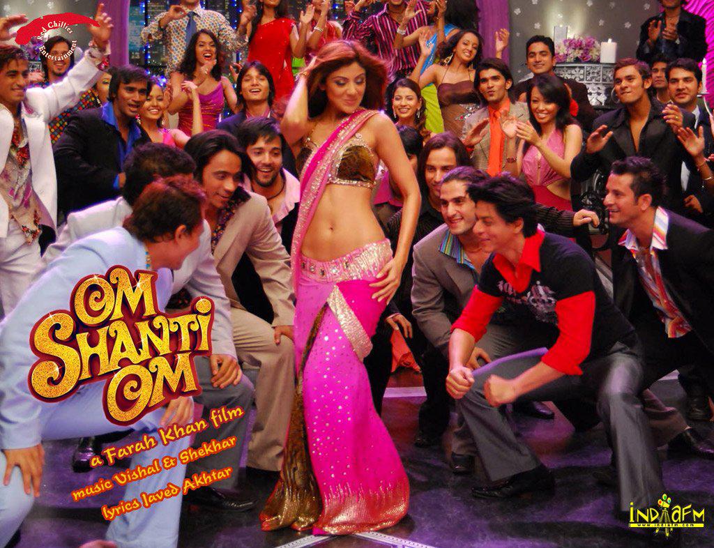 Om Shanti Om 2007 Wallpapers Shilpa Shettyshahrukh Khan