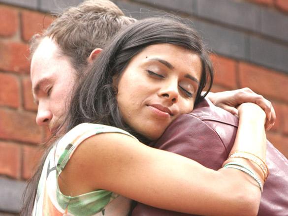 Movie Still From The Film Land Gold Women,Neelam Parmar