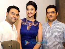 Maneesh Sharma, Parineeti Chopra, Jaideep Sahni