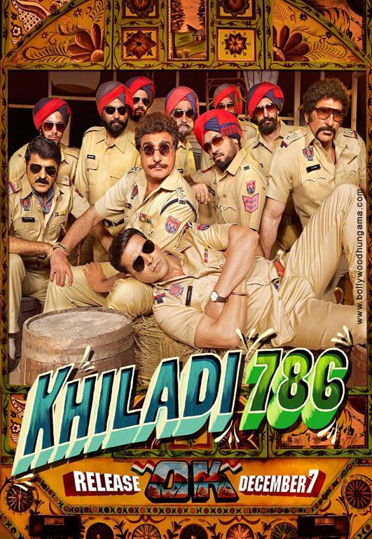Khiladi 786 Cover