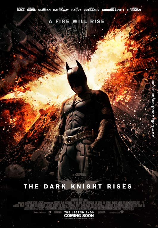 The Dark Knight Rises Cover