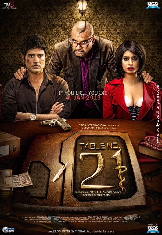 Table No. 21 Cover