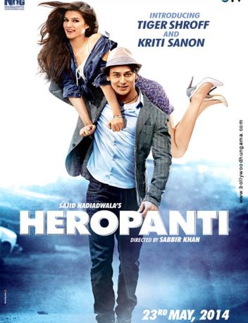 Heropanti Cover